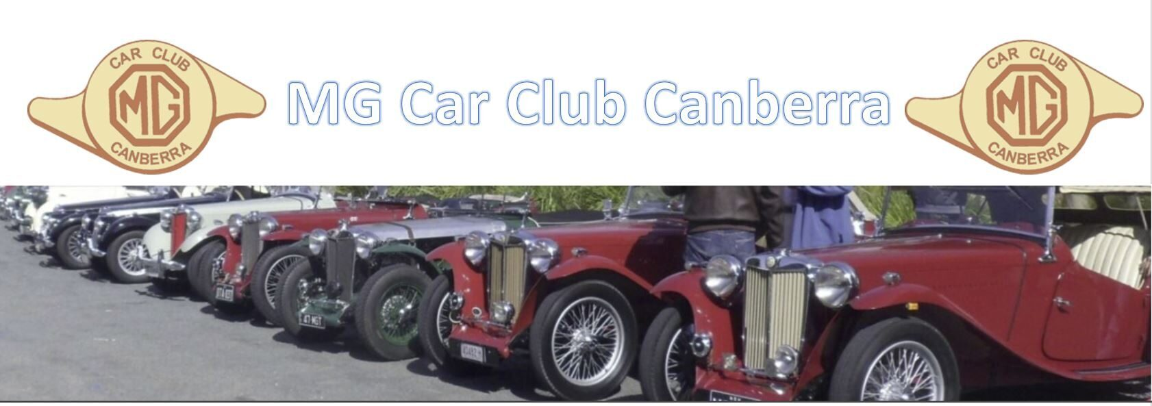 Welcome to the MG Car Club Canberra website
