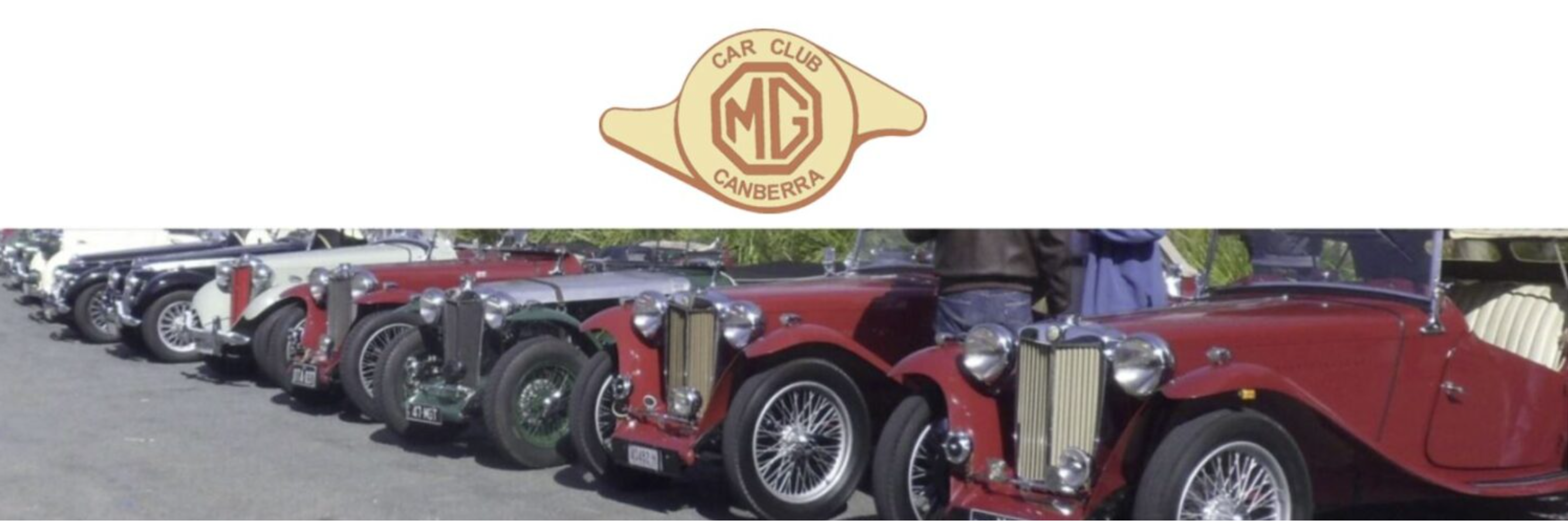 Welcome to the MG Car Club Canberra