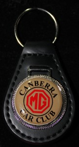 Key Fob Leather MGCCC