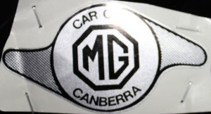 Sticker Silver and Black