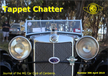 Tappet Chatter April 2015 Cover