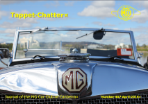 Tappet Chatter Cover April 2016