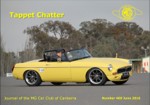 Tappet Chatter Cover June 2016