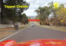 Tappet Chatter Cover May 2016