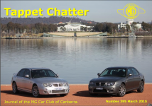 Tappet Chatter March 2015 Cover