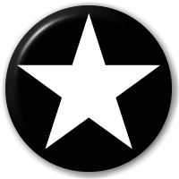 white_and_black_plain_star